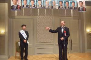 佐藤議員と候補者