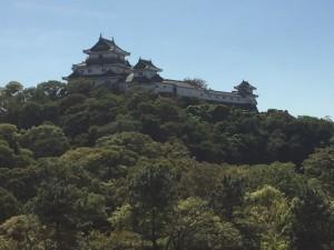 紀州藩の和歌山城