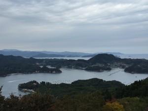 気仙沼大島の山頂からの絶景16.10.22 (1)