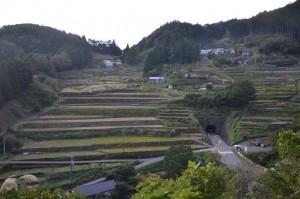 梼原の棚田と茶堂 (2)