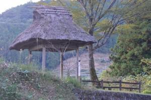 梼原の棚田と茶堂 (1)