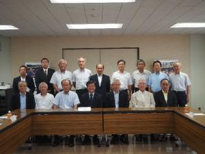 富山県建産連、OB会の皆様と意見交換会