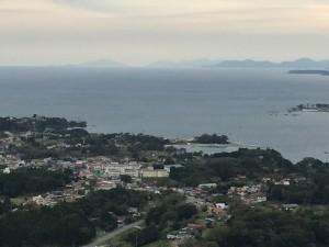 気仙沼大島の山頂からの絶景16.10.22 (2)
