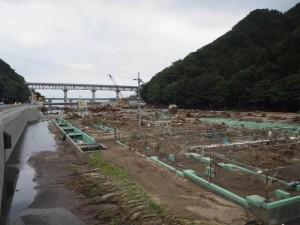 野田村のサケ・マス孵化場