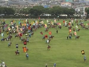 カラフルで勇壮な相馬野馬追 (2)
