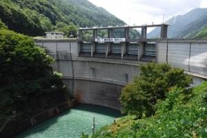 稲刻ダム下流